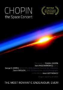 Chopin The Space Concert poster